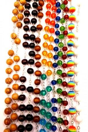 Pärlor till rosenkrans design